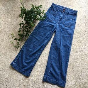 Gap High Rise Wide Leg Jeans